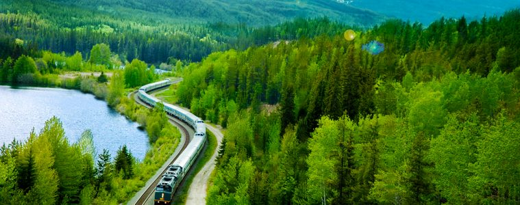 Coast to Coast Canada by Rail